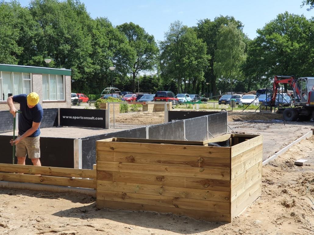 Verbouwing Speeltuin - Camping de Eekhoorn